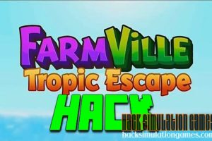 Farmville Tropic Escape Hack Tool for Free Unlimited Gems